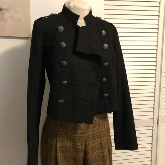 release date latest fashion limited guantity Vintage Naf Naf military crop jacket